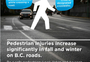 Pedestrian Safety Month with ICBC